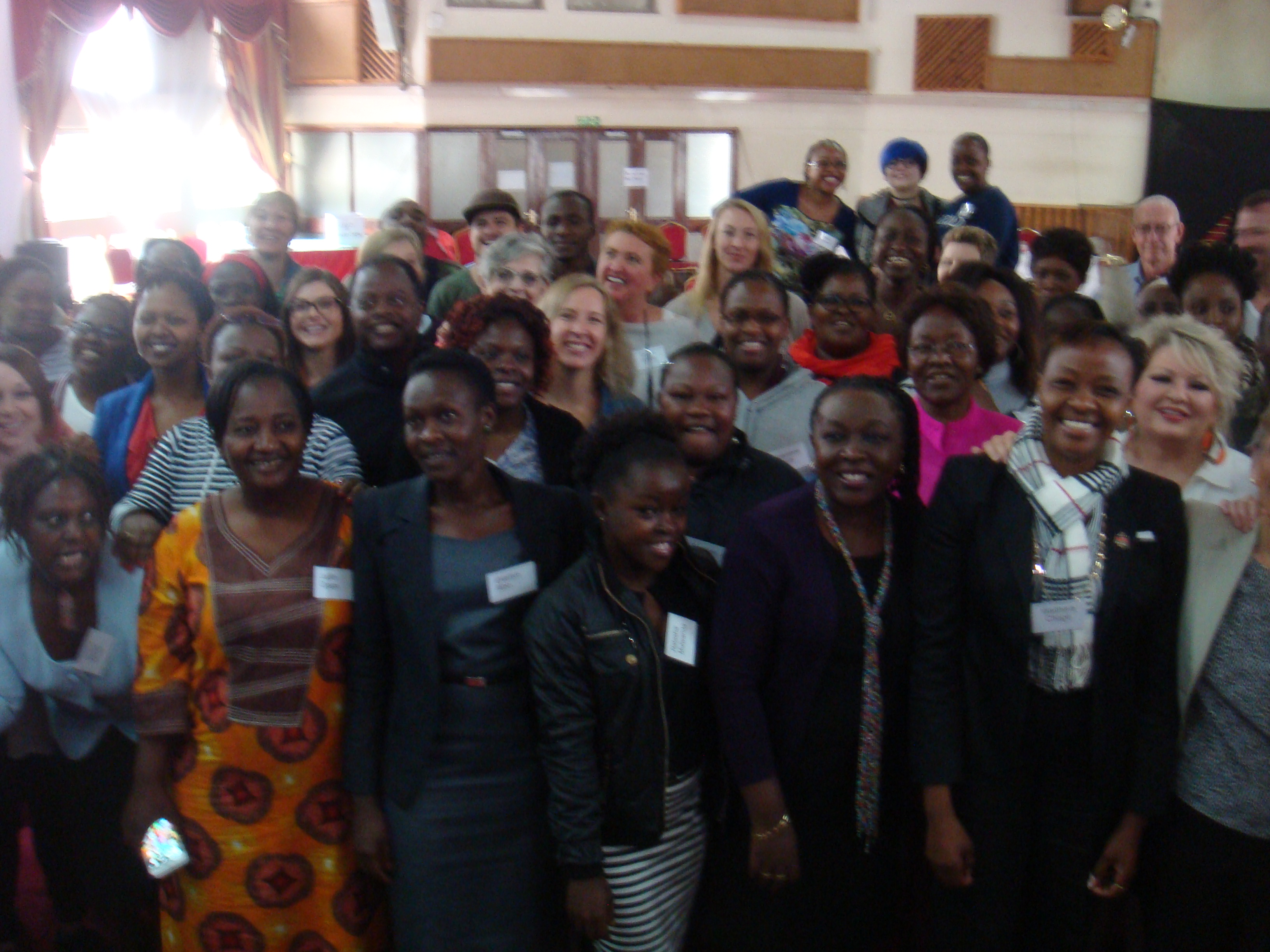 "Participants at the Global Women's Leadership Network's week-long ""Being a Leader and Effective Exercise of Leadership"" training."