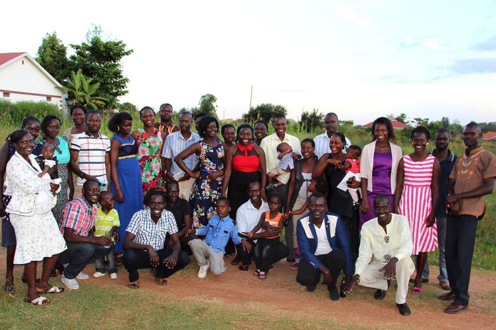 Village Enterprise StaffHoliday Party in Uganda