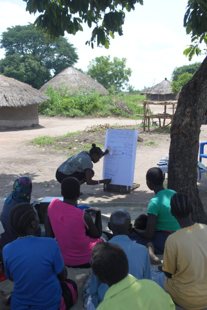 Village Enterprise training in Nwoya, Uganda