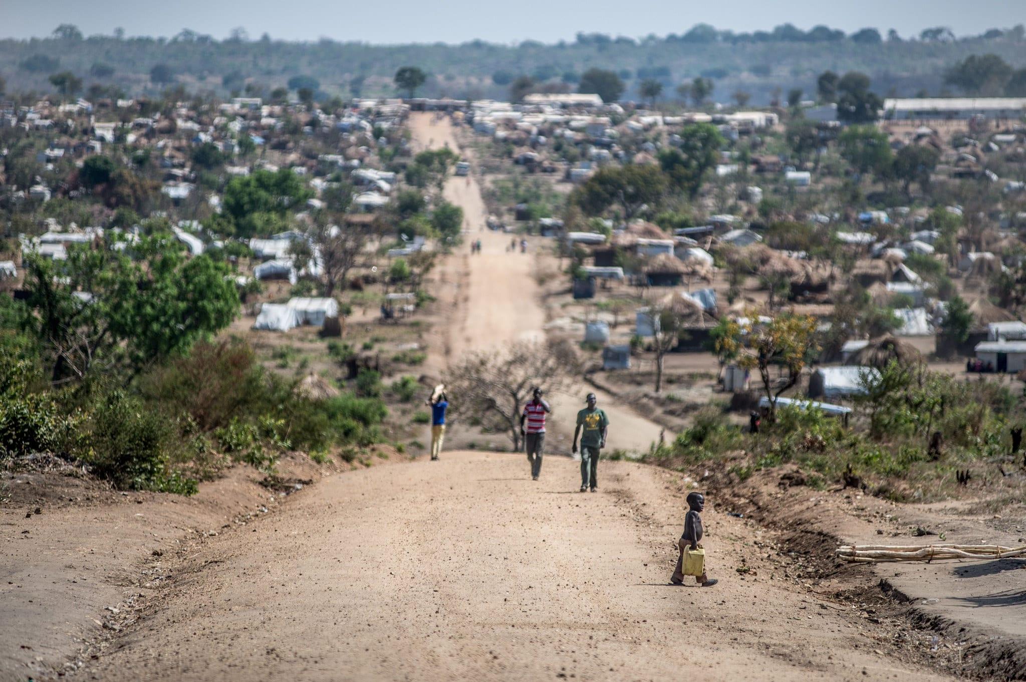 Bidibidi refugee settlement (photo courtesy of Creative Commons)