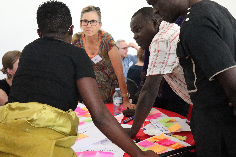 Village Enterprise staff using Human Centered Design