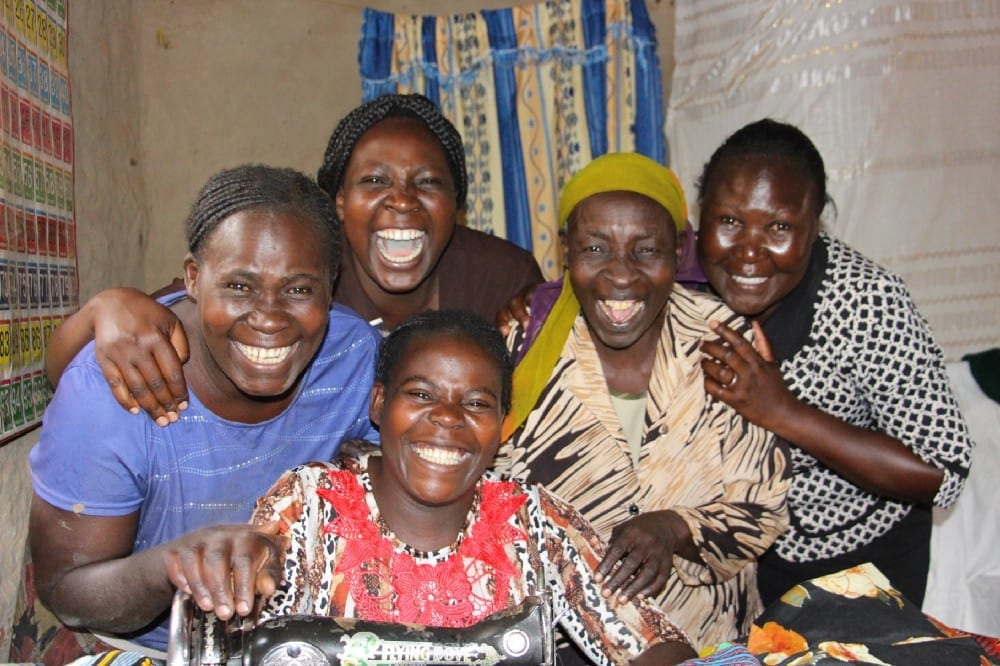 Village Enterprise female business owners grinning