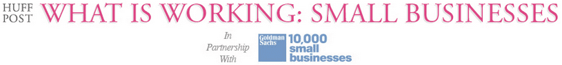 Huffington Post and Goldman Sachs header