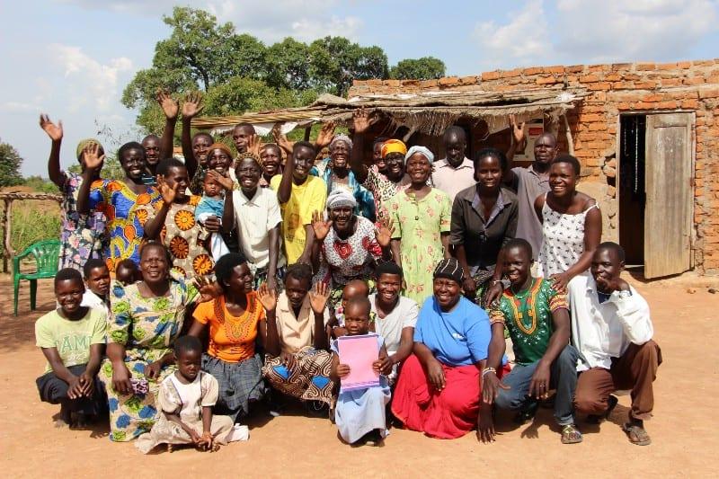 A Village Enterprise Business Savings Group in Orkweswa Village