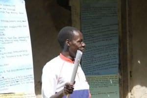 Village Enterprise staff teaching