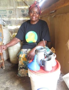 Village Enterprise business owner Jane Arara