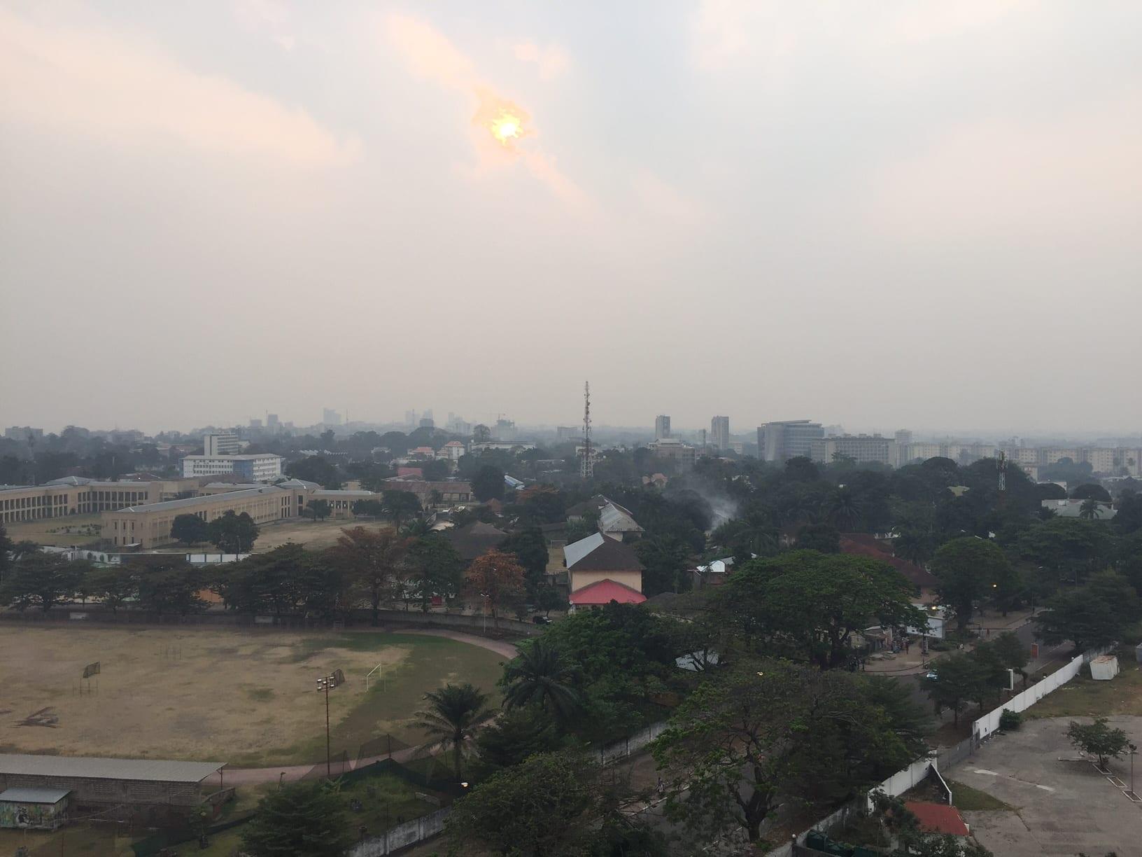 Morning in Kinshasa, Democratic Republic of Congo