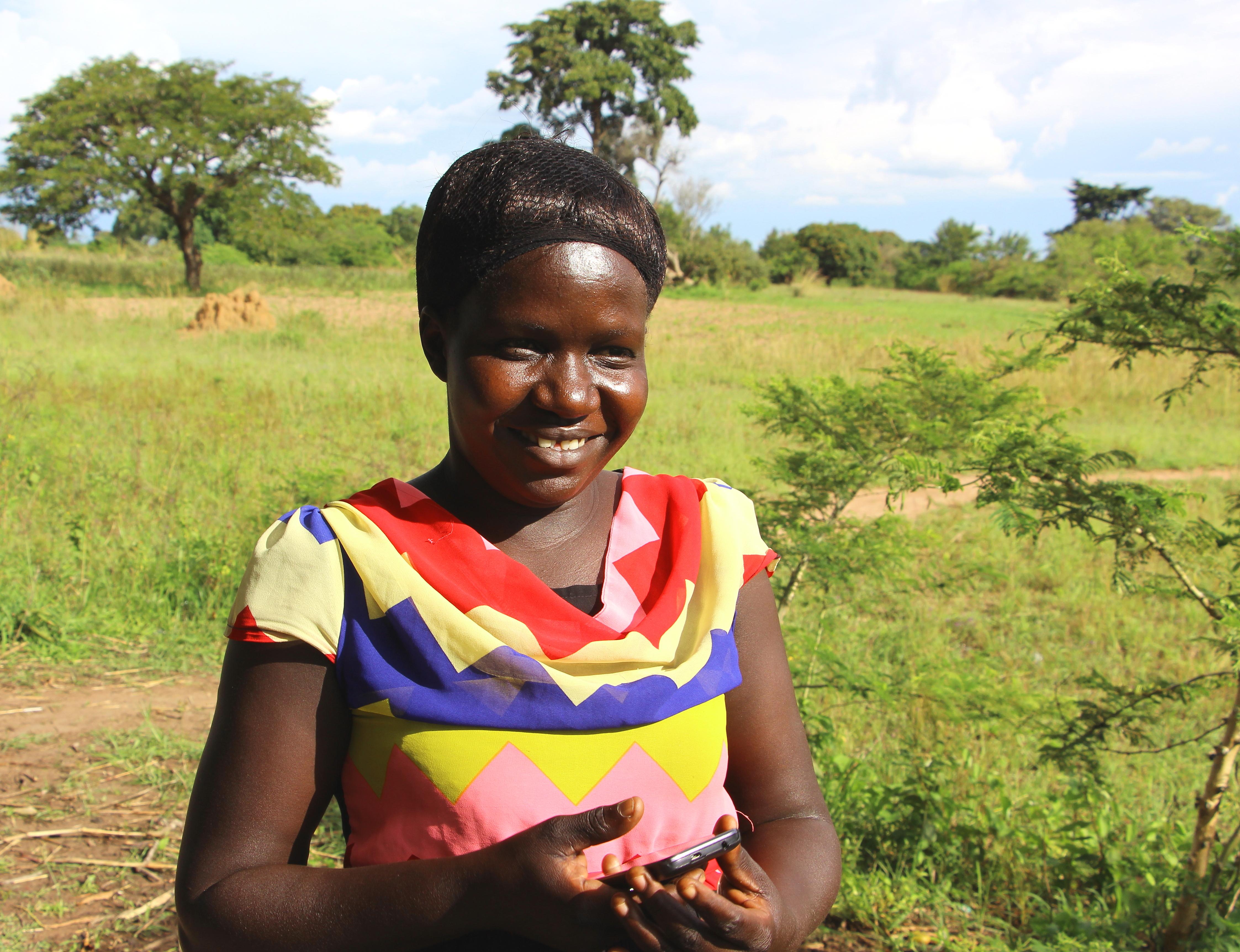 Village Enterprise Business Mentor, Esther Apolot