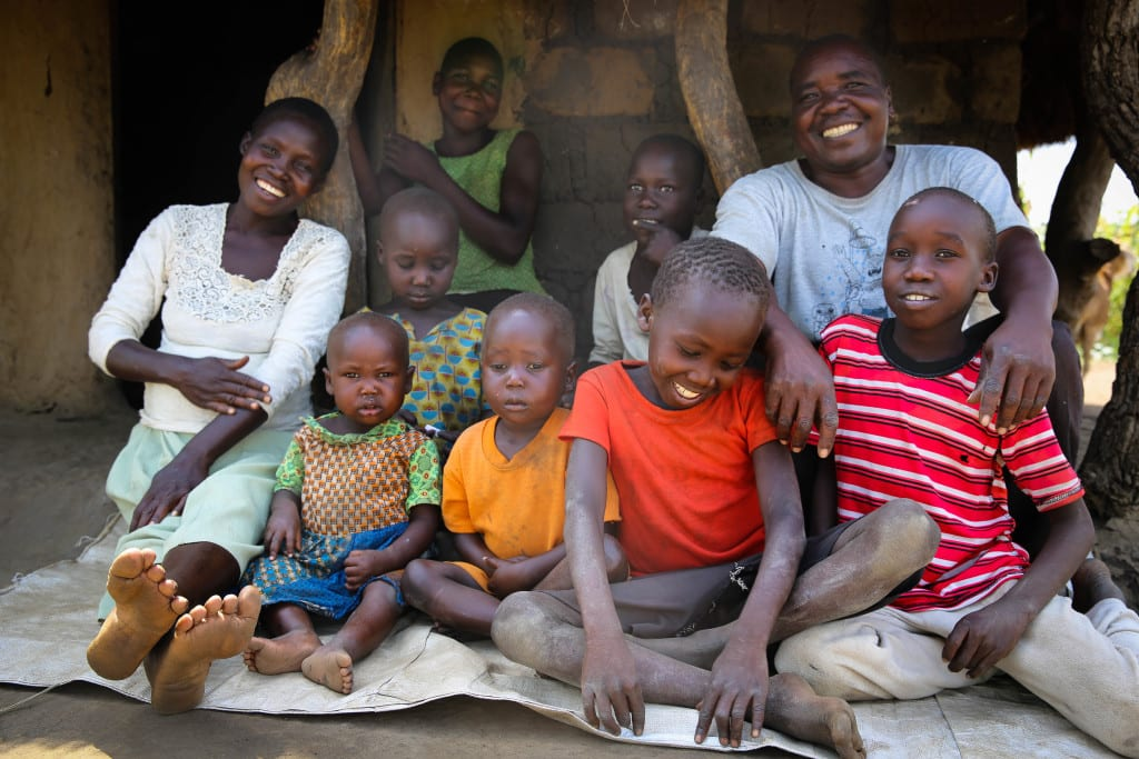 Joseph Ebwalu's family