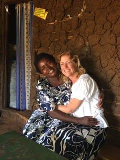 Joyce Kyalisiima and Christine Rose