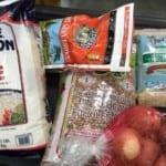 Various packaged food