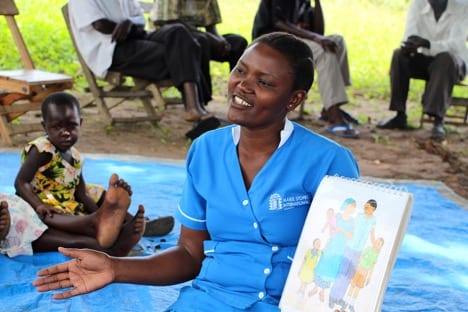 Marie Stopes service providers explain the importanceof family planning andcontraception