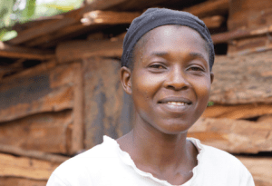 Agnes Kwamboka, Village Enterprise business owner