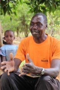 Emukajo Gilbert, Village Enterprise business owner
