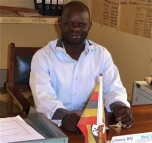 Tom Okello, an early participant in the Village Enterprise program