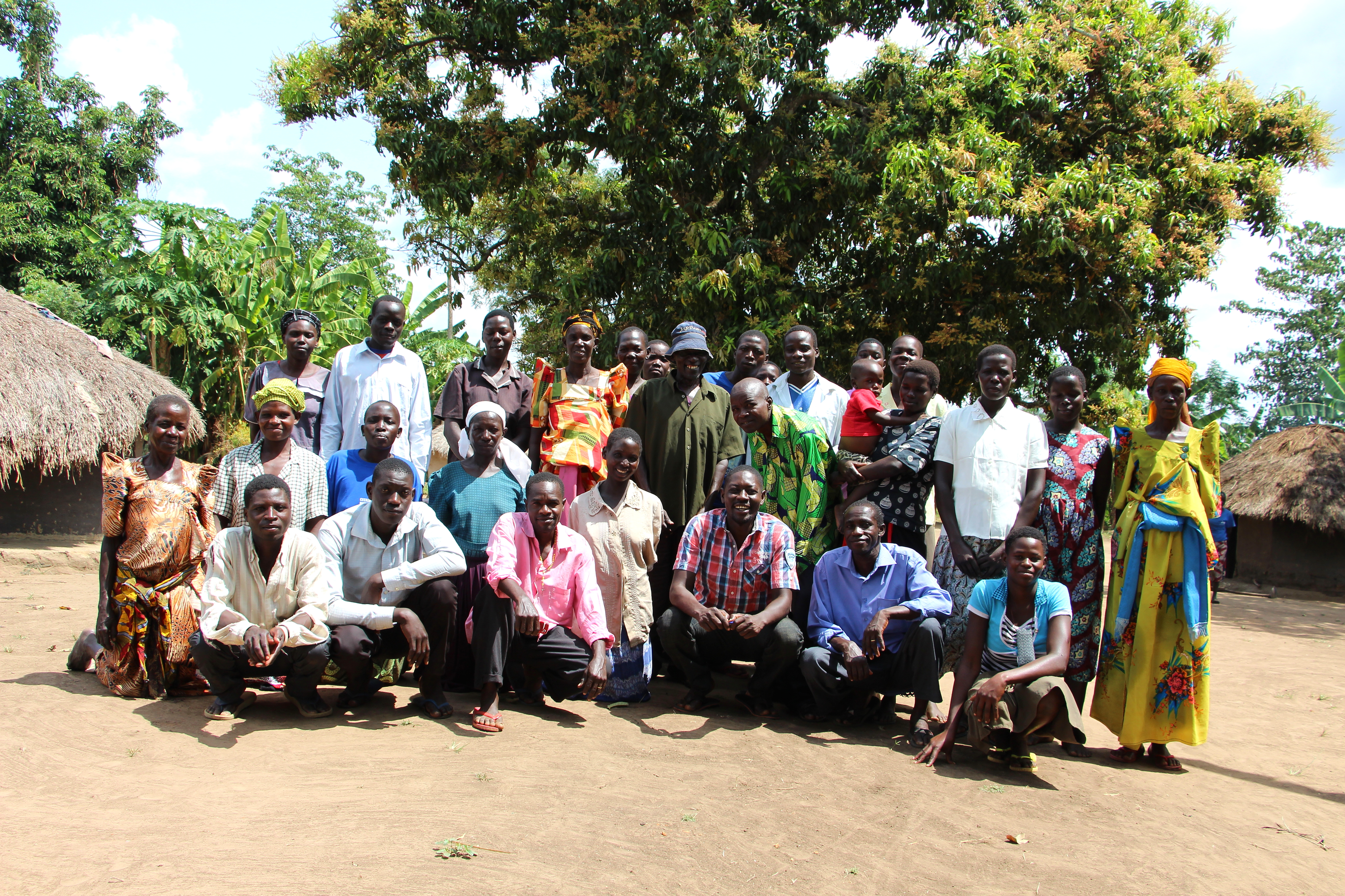 The Obanga Enteko (God is Great) Business Savings Group in Adekwok, Uganda.