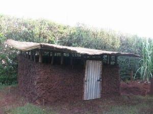 African kuku house, or chicken coop