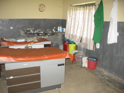 Health center in Uganda